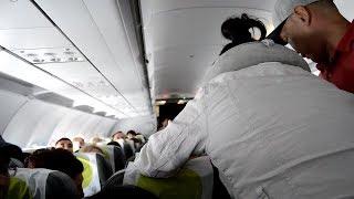 Пассажир потерял сознание на рейсе Иркутск-Сеул
