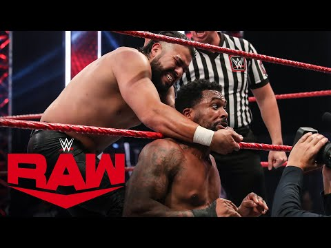 Montez Ford vs. Andrade: Raw, Aug. 3, 2020