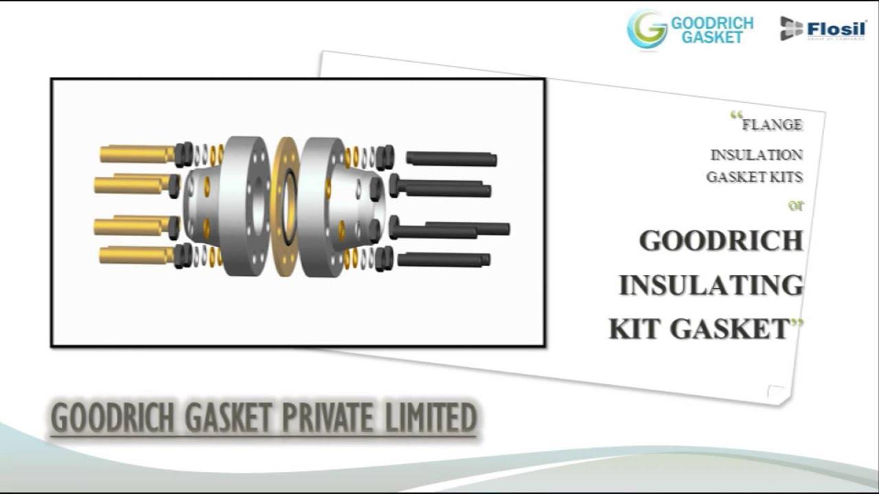 Goodrich Insulating Kit Gasket - Goodrich Gasket - India - YouTube
