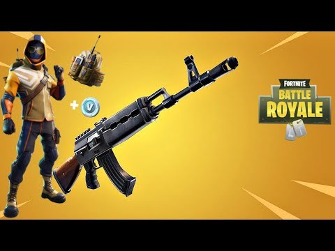 Fortnite New Heavy AR + Summit Striker Starter Pack Update Countdown + Gameplay!