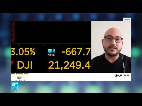البورصات العالمية.. أسواق المال تواصل رحلة التراجع  - نشر قبل 5 ساعة