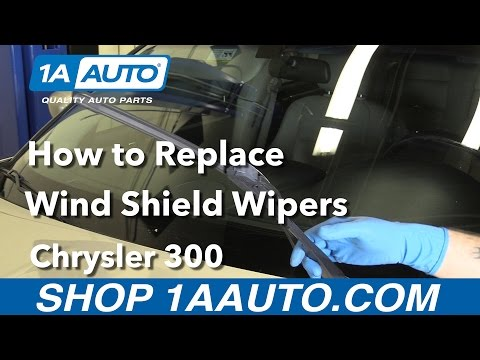 How to Replace Windshield Wipers 05-10 Chrysler 300
