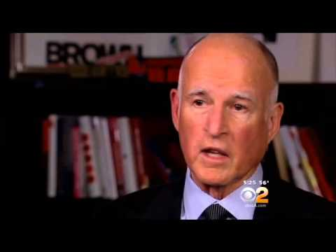 CBS News' Scott Pelley Discusses His Interview With Gov. Jerry Brown