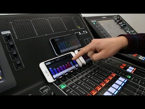 New Monitor-Mixing features for Yamaha CL/QL V4.0
