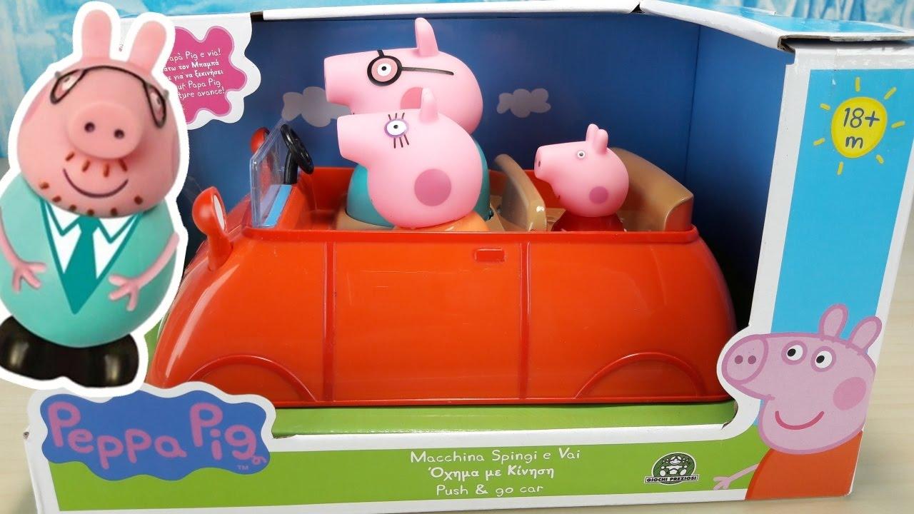 Peppa Pig Macchina Spingi E Vai Italiano Giochi Per Bambini Tutti A Bordo Con Peppa Pig Youtube