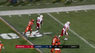 De'Mornay Pierson-El's 45-Yard Touchdown vs. Illinois