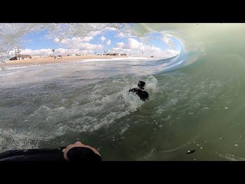 January 2019 | GoPro POV Shorebreak Compilation