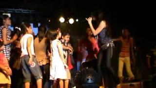 Priyanka Negi performing char baj gaye