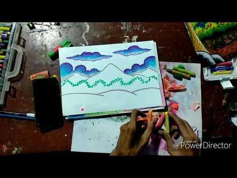Full Download Mewarnai Tanah Dengan Crayon Grap