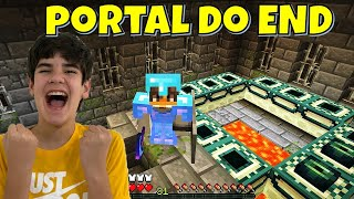 MINECRAFT #47 ACHAMOS O PORTAL DO END | PEDRO MAIA NERD SPACE