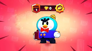 MAX POWER MR.P with 0 Trophies! // BrawlStars