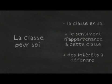 EC1 Analyse classes sociales Marx