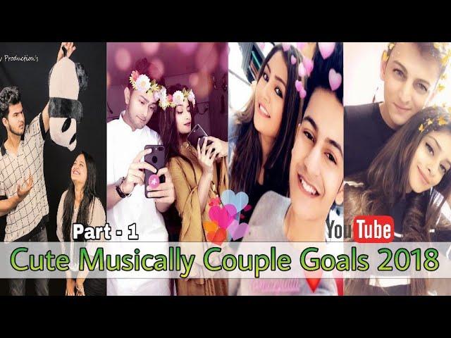 #Tiktok #couple #couplegoals | Cute Musically Couple Goals Compilation 2018 Part 1.