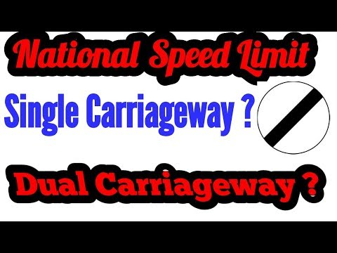 What is Difference Between Single Carriageway and Dual Carriageway?