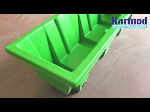 Livestock Water Trough & Feed Trough 320 L - Karmod