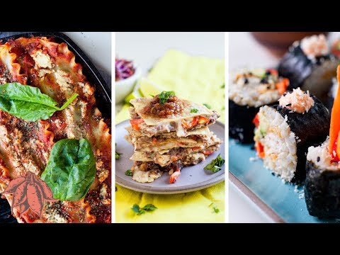 Meaty Back-to-School & Kid Friendly VEGAN Recipes
