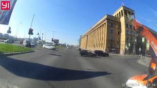 Смотреть видео Дтп 14.05.18 Санкт-Петербург онлайн