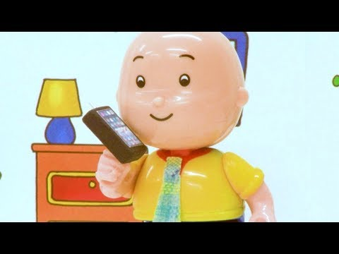 FIRST DAY OF SCHOOL | Funny Animated cartoons Kids | WATCH ONLINE | Caillou Stop Motion