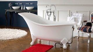 видео Ванная комната в ретро стиле, фото винтажных дизайнов и интерьеров