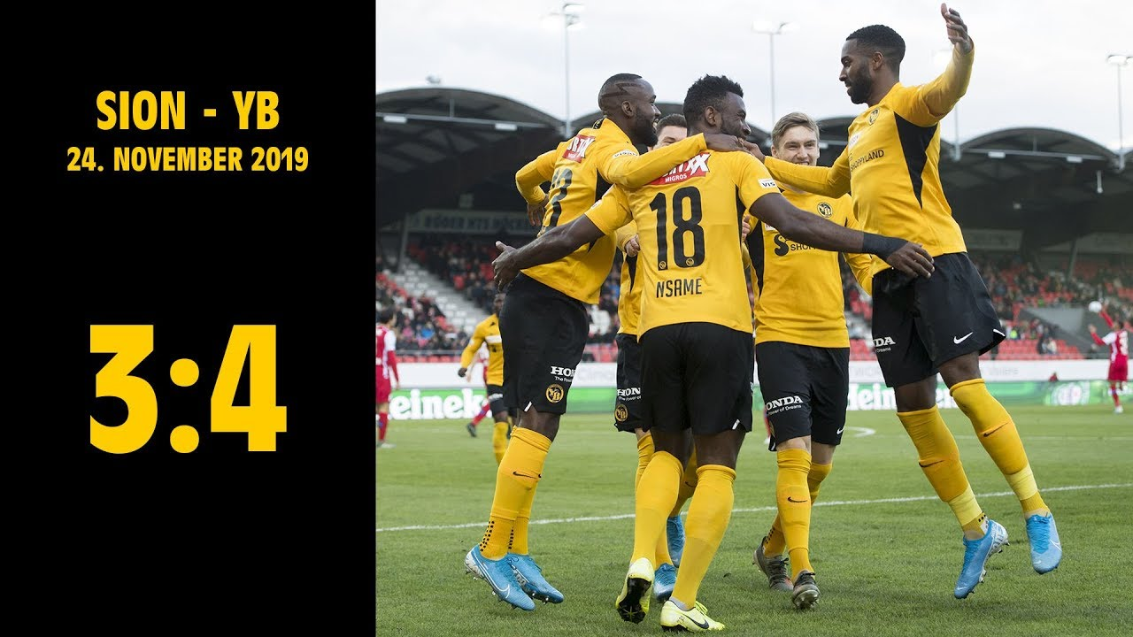 Sion Yb 3 4 24 11 2019 Raiffeisen Super League