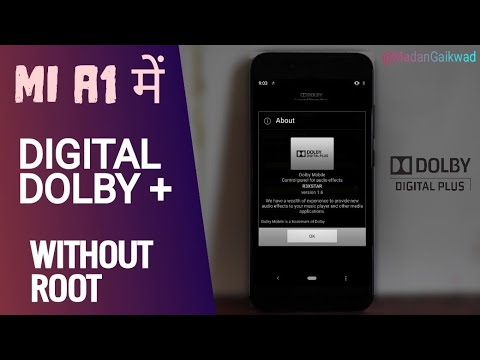 Digital Dolby Plus On Mi A1 - Without Root