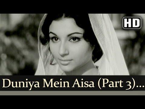 Duniya Mein Aisa Kaha Part 3 HD  Devar   Dharmendra  Sharmila Tagore  Lata Mangeshkar