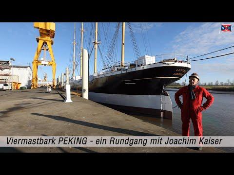 Viermastbark PEKING - ein Rundgang mit Joachim Kaiser