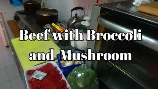 Beef with Broccoli and Mushrooms Pinoy Style