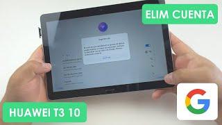 Eliminar Cuenta de Google Tablet Huawei T3 10   AGS-L03