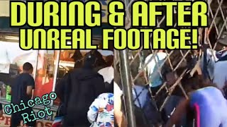 FOOTAGE OBTAINED LOOTING GO INSIDE THE STORES & THE PEOPLE WHO WERE HURT AFTER