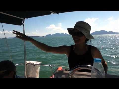 Day 1 Sailing around Phuket, Thailand (mostly Cantonese, some English)