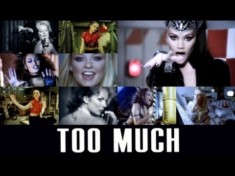 Spice Girls - Too Much (Lyrics & Pictures)