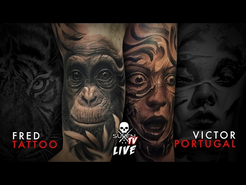 Live Tattoo | Victor Portugal and Fred Tattoo Collab
