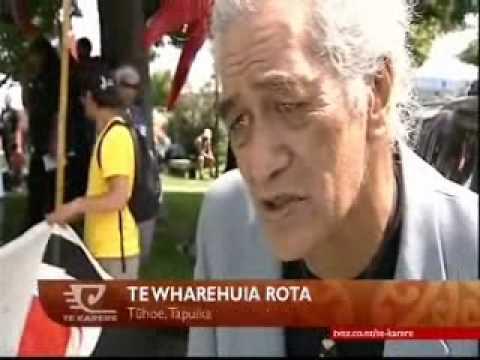 Hikoi arrives in Rotorua