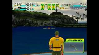 Game Sega Marine Fishing - Blue Marlin - Tarpon.