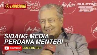 Sidang Media PM Sempena Lawatan Ke AirAsia, RedQ