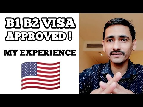 #US B1 Visa Pocess And My Experience - Got Approved - Know How?