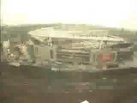 Arsenal's Emirates Stadium - building timelapse