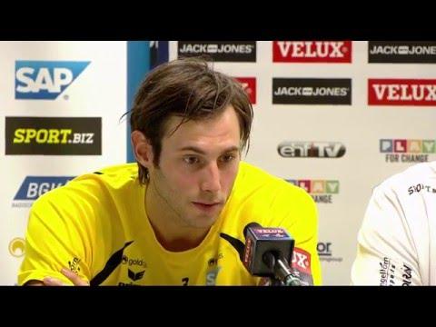Pressekonferenz nach der Niederlage gegen Zagreb
