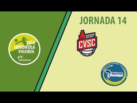 Jornada 14 -  DSV CV Sant Cugat -  IBSA CV CCO 7 Palmas