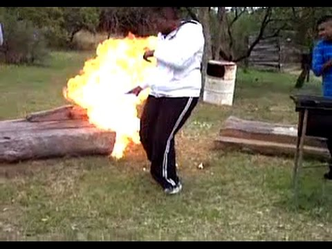 Brother In Law Tries To Kill Me - Petrol Bomb Explosion!!