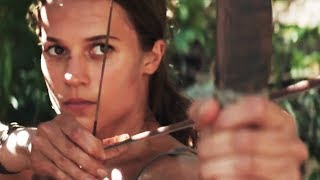 Tomb Raider Trailer 2017 Alicia Vikander as Lara Croft 2018 Movie - Official