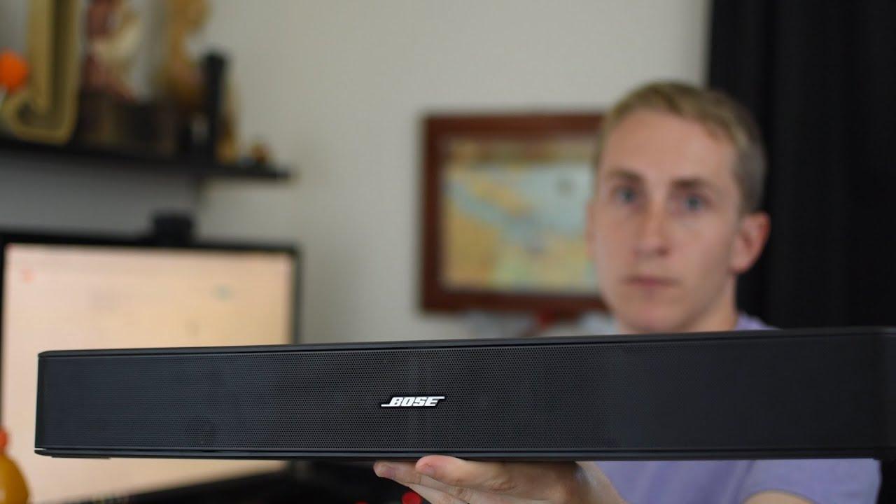 Best Soundbar 2018 Bose Solo 5 Review Youtube Mythhiddenwiringwallmountedtv Premium