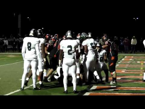 Detroit Cass Tech at Dearborn - 2016 Division 1 Football Playoff Highlights on STATE CHAMPS!