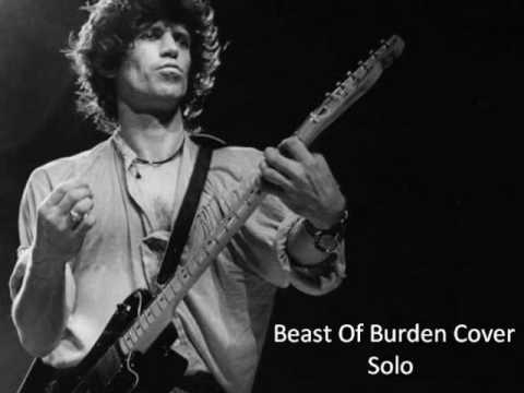 Rolling Stones - Beast of Burden Solo