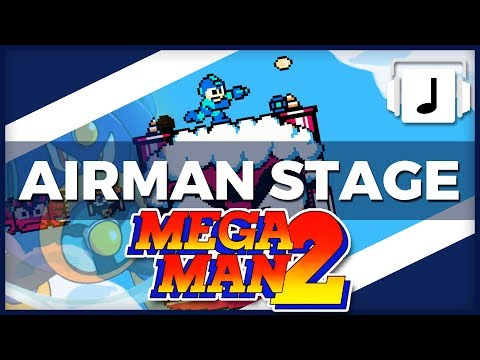 Airman Stage Megaman 2 Remix