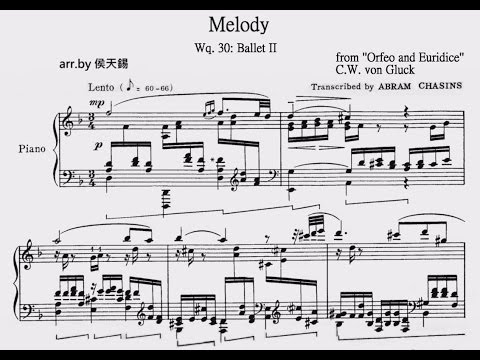 Orfeo ed Euridice   Melody  Gluck