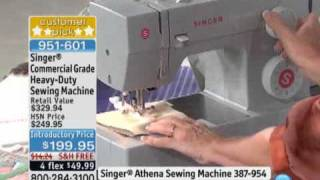 Singer Commercial Grade Heavy-Duty Sewing Machine