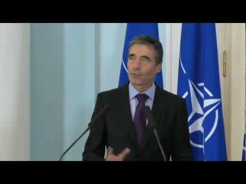 NATO Secretary General - Press Point with President of Armenia
