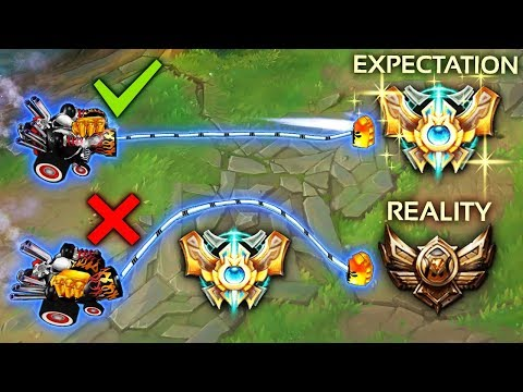 EXPECTATIONS vs REALITY - One Trick Champions Gone Wrong